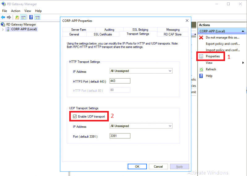 How to improve Remote Desktop performance for remote users
